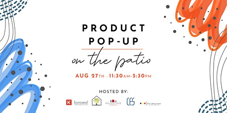 Product Pop-Up on the Patio tickets