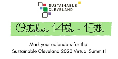 Sustainable Cleveland 2020 Virtual Summit tickets