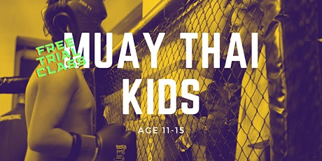 Muay Thai Kids Age 11-15 Trial Class at Fenriz Gym Tickets