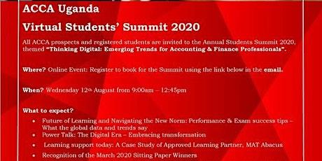 ACCA Uganda Virtual Students Summit 2020 tickets