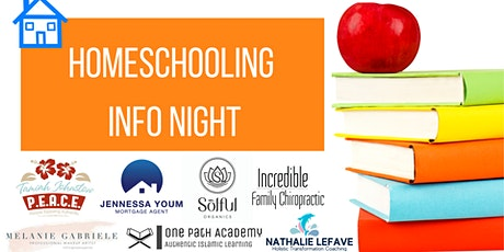 Homeschooling Info Night tickets