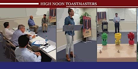 High Noon Toastmasters (Weekly Meeting) tickets