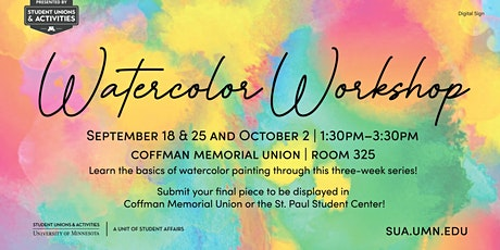 Watercolor Workshop Series tickets