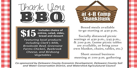 CCE Farm Tour and Annual Dinner Meeting- September 3rd tickets