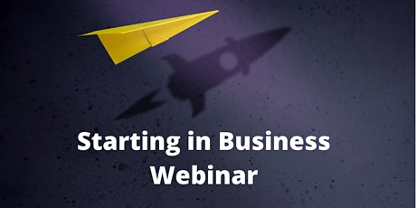 Starting in Business Webinar tickets