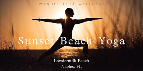 Sunset Beach Yoga at Lowdermilk Beach tickets