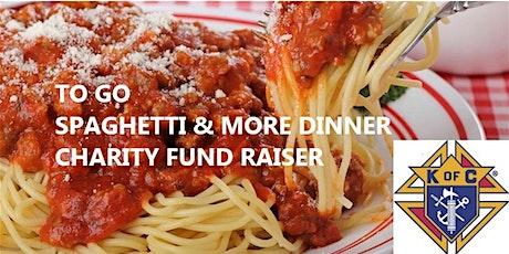 Spaghetti & More Dinner - Charity Fundraiser tickets