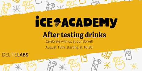 Ice Academy 2020 - After Testing Drinks tickets