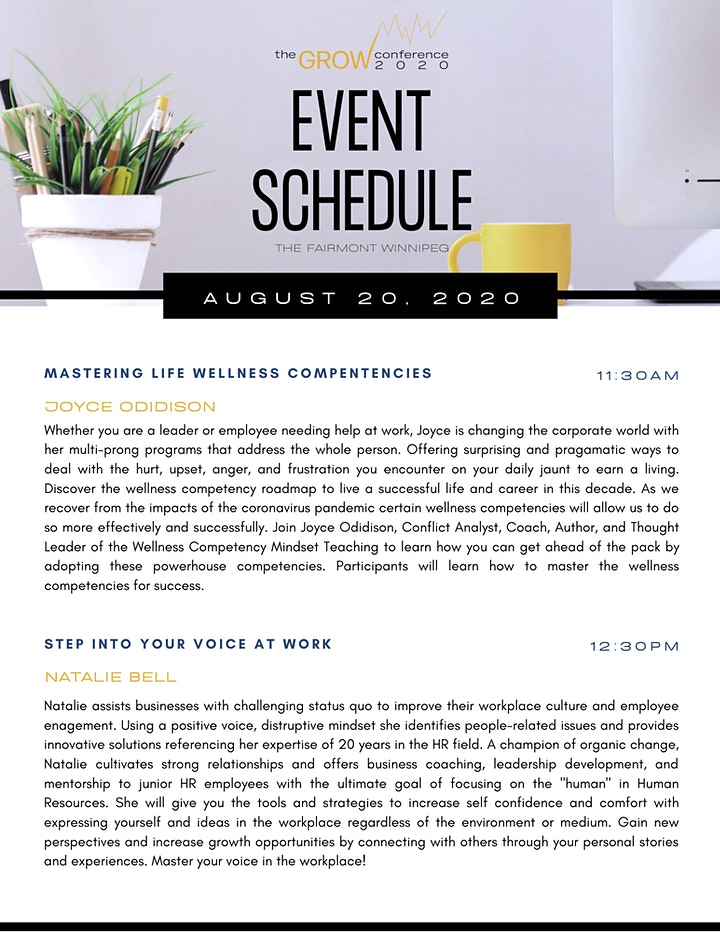 The GROW Conference 2020: The Power Of Leveraging Your Strengths image