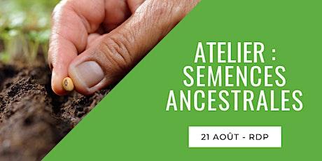 Atelier : Semences ancestrales billets