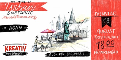 Urban Sketching in Bonn -  Lerne deine Umgebung zu