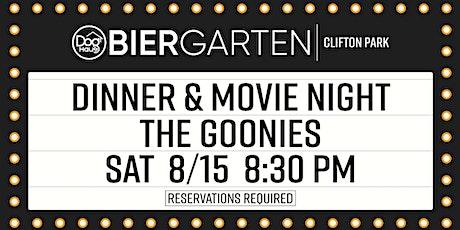Dog Haus Biergarten Clifton Park: Dinner & A Movie - The Goonies tickets