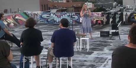 DESPERATE TIMES ROOFTOP OPEN MIC COMEDY SHOW X TINY CUPBOARD tickets