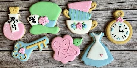 Alice in Wonderland Cookie Decorating Class tickets