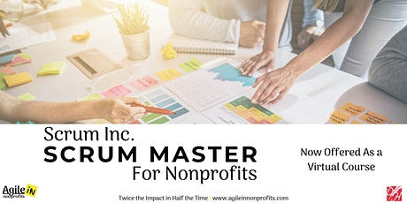 Scrum Master for Nonprofits Tickets