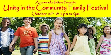 Unity in the Community  - Hosted by America's friendliest first people tickets