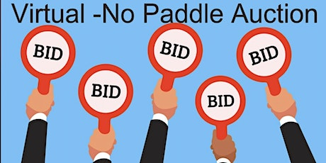 """No Paddle"" online auction tickets"