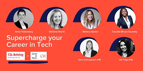Supercharge your career in Tech tickets