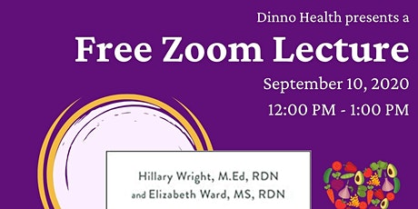 FREE ZOOM DISCUSSION The Menopause Diet Plan With authors Hillary Wright, M tickets