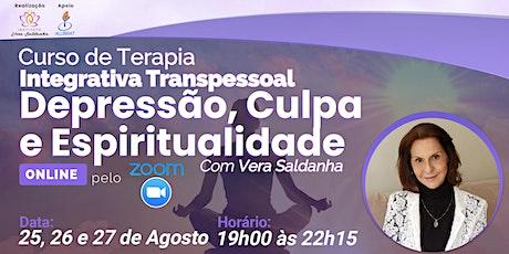 Curso Terapia Integrativa Transpessoal - Depressão, Culpa e Espiritualidade ingressos