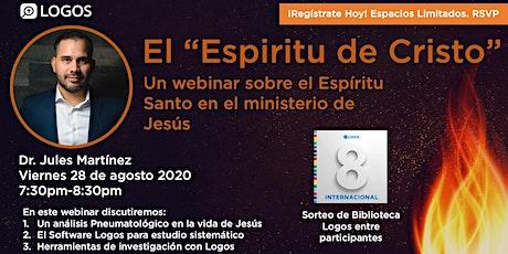 El Espiritu de Cristo tickets