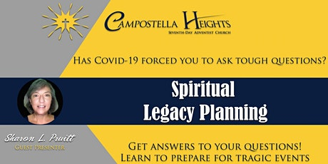 Legacy/Estate Planning - Plan for life's tragic events tickets