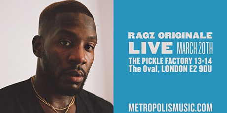 Rescheduled - Ragz Originale tickets