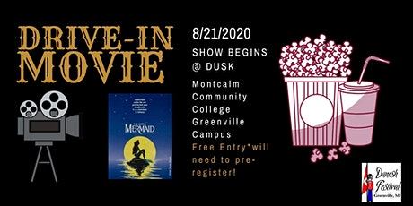 Danish Festival Drive-In Movie featuring Little Mermaid tickets