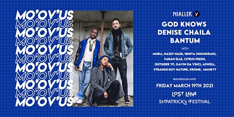 Denise Chaila, God Knows, Bantum & many special guests tickets
