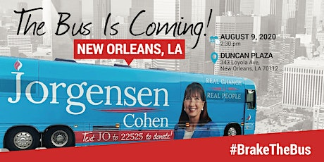 BUS TOUR: Dr. Jo is coming to  New Orleans tickets