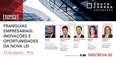 Franquias Empresariais: inovações e oportunidades da nova lei ingressos