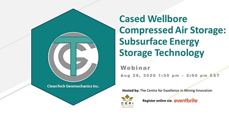 Cased Wellbore Compressed Air Storage: Subsurface Energy Storage Technology tickets