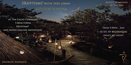 5Rhythms® with Tata Leban - Golden Vision tickets