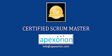 CSM ONLINE (Certified Scrum Master) - Nov 7-8, Dublin, CA tickets