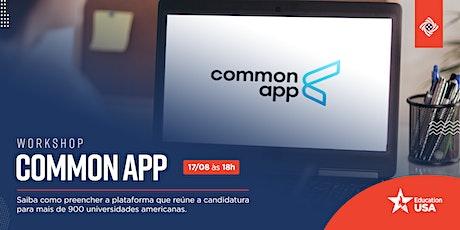 [Online] Common App Workshop tickets