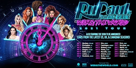 RuPaul's Drag Race Werq The World Meet & Greet (Marseille) billets