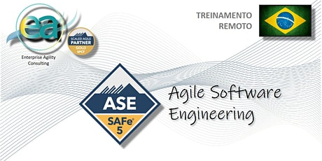 Treinamento remoto SAFe® Agile Software Engineering c/ exame p/certificação ingressos