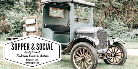 Supper & Social: Fundraiser Dinner & Auction tickets