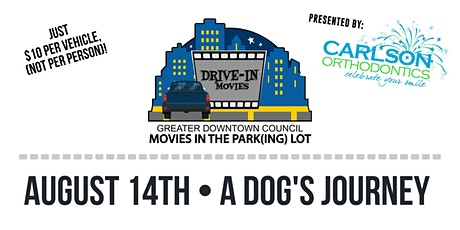 Movies in the Park(ing) Lot - A Dog's Journey tickets