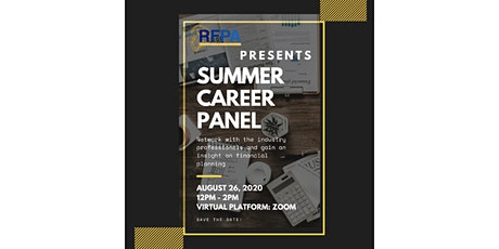 RFPA Summer Career Panel tickets