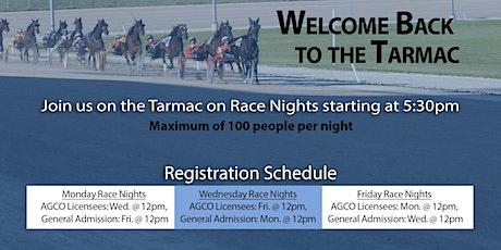 Sept 25, 2020 -  Race Night Tarmac Registration tickets