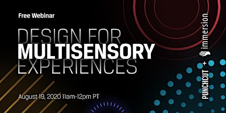 Design for Multisensory Experiences tickets