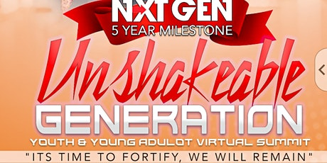UNSHAKABLE GENERATION VIRTUAL YOUTH SUMMIT - 2 DAY EXPERIENCE tickets