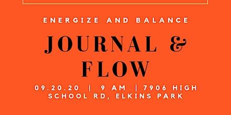 Journal & Flow Energize & Balance tickets