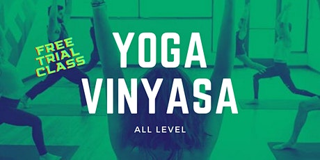 Vinyasa Yoga Trial Class at Fenriz Gym tickets