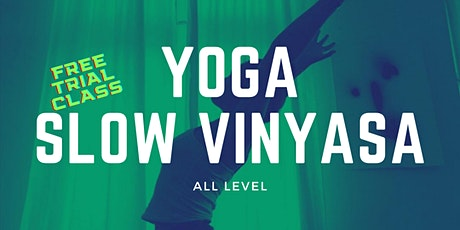 Slow Vinyasa Yoga Trial Class at Fenriz Gym tickets