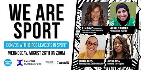 We Are Sport: Diversity & Leadership (26/08/2020) billets