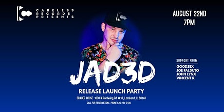 JAD3D Release Launch Party tickets