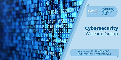GMG/MM-ISAC Cybersecurity Working Group | Virtual Meeting tickets