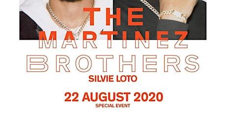 The Martinez Brothers Villa delle Rose Riccione biglietti